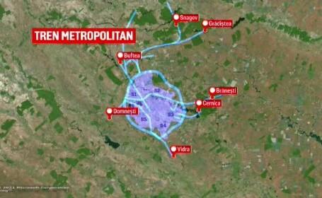 Bucureștiul va avea trenuri metropolitane din 2024. Cât vor costa biletele