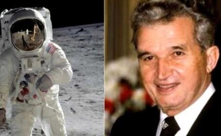Mesajul fabulos al lui Ceaușescu dus de astronauți pe Lună! Ce scria pe bilet
