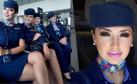 Ce nu știai despre stewardese! Antrenamentul secret pe care îl fac înainte de zborul cu avionul