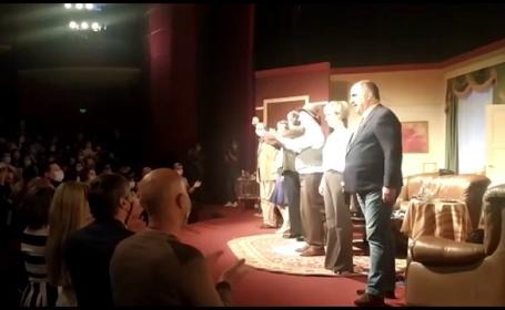 Primul spectacolul-pilot de la Teatru Național București. Doar cei vaccinați au avut acces