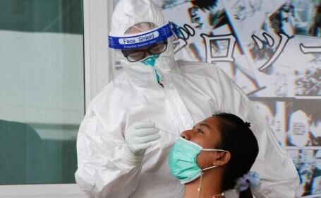 Thailanda a înregistrat într-o zi mai multe cazuri de Covid-19 decât pe tot parcursul anului 2020