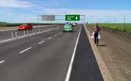 Promisiuni că șoferii vor putea circula din 2024 pe A0, autostrada care înconjoară Capitala