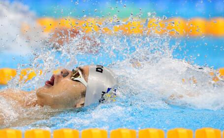Robert Glință a devenit primul român din istorie campion european în probele masculine de natație