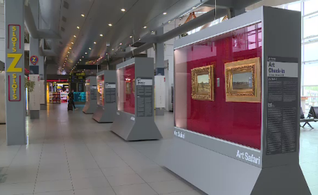 Art Safari Airport Museum s-a deschis în aeroportul Henri Coandă din Otopeni, cu lucrări ale lui Nicolae Grigorescu