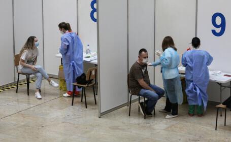 Peste 7.200 de oameni s-au imunizat la Maratonul Vaccinării de la Bucureşti. Mulţi cer serul de la Johnson & Johnson