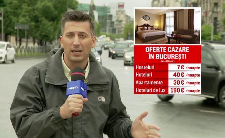 EURO 2020. Meciurile găzduite la București îi fac fericiți și pe hotelieri, nu doar pe suporteri