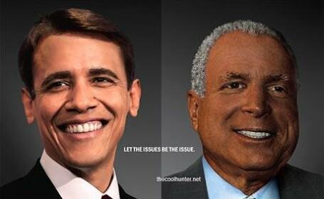 He\'s black or white? Obama vs. McCain