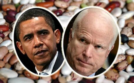 Obama si McCain au fasolea de partea lor