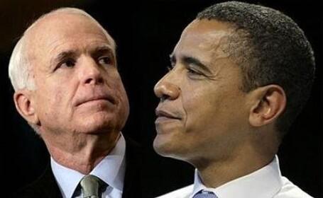 McCain si Obama
