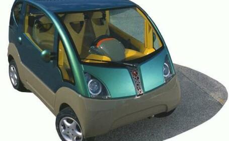Vehicul cu aer comprimat