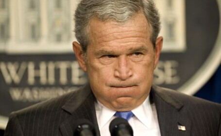 Realitatea e crunta: Bush nu iese din casa in ziua alegerilor