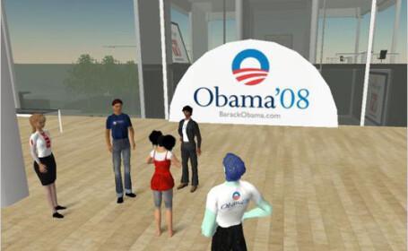 Second Life Obama