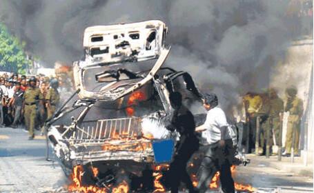Opt oameni au murit intr-un atentat sinucigas comis in Osetia de Sud