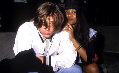 Brad Pitt& Robin Givens