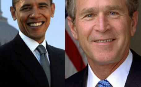 Bush si-a luat adio de la scaunul prezidential! E vremea lui Barack Obama!