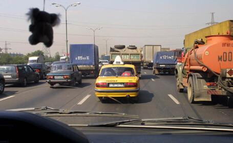 Recesiune, recesiune, dar rusii se plimba in taxiuri de lux