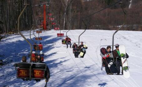 Vreme perfecta pentru sporturile de iarna in statiunile montane