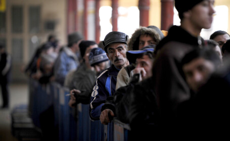 Gara de Nord, aglomeratie vot