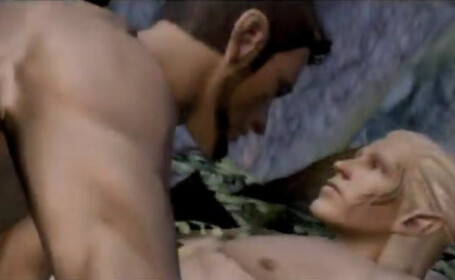 Scena de sex gay intr-un joc video!