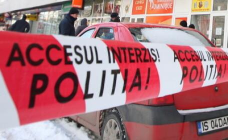 Benzinarie din Cluj, jefuita de doua persoane cu pistoale de jucarie. Cati bani au furat hotii