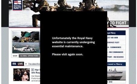 Site-ul Royal Navy spart de un hacker roman