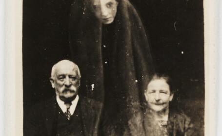 FOTO. Cum erau trucate fotografiile cu fantome, folosind \