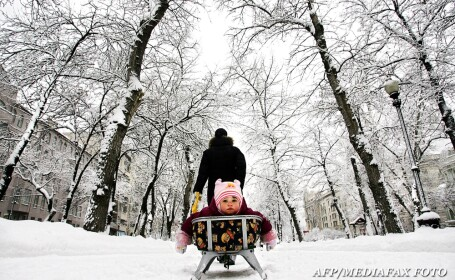 A nins pe Valea Prahovei, la munte si in Transilvania. Vezi prognoza meteo pana vineri