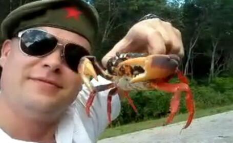 Crabul si soldatul rus