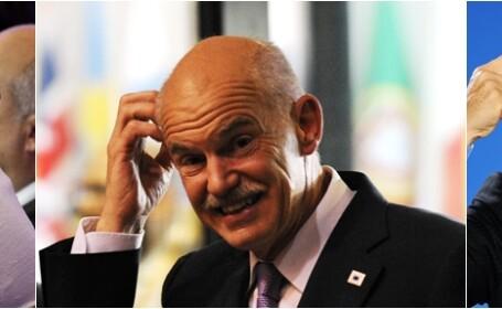 Merkel, Papandreou, Sarkozy