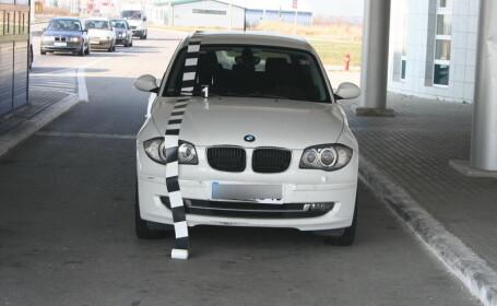 BMW furat din Franta