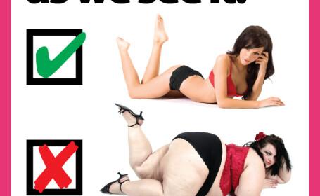 VIDEO. Au furat fotografia unui model supraponderal, pentru o campanie care a revoltat toate femeile