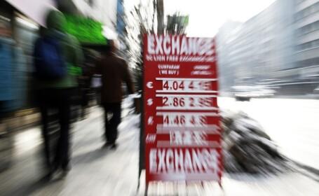 Curs de schimb, euro, valutar