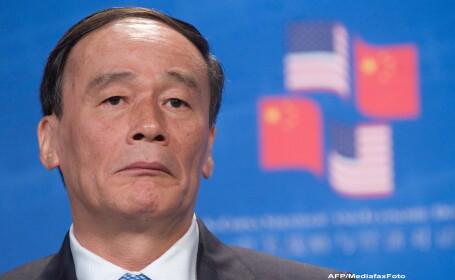 Vicepremierul Chinei, Wang Qishan