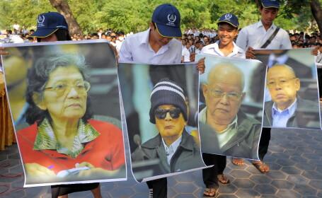 Procesul liderilor Kmerilor Rosii