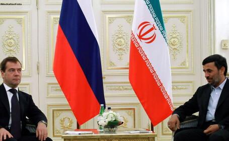 Rusia sare in apararea Iranului: \