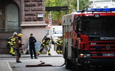 MISTER. Un om a luat foc in timp ce astepta in statia de tren. Nimeni nu-i cunoaste identitatea