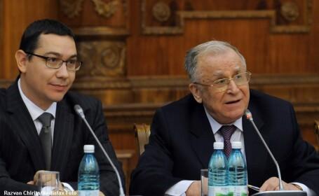Victor Ponta si Ion Iliescu