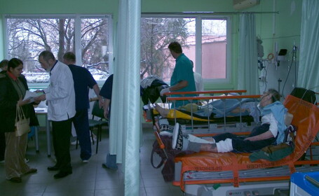 urgente, spital, arad