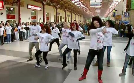 flashmob Gara de Nord