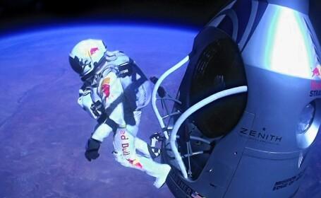 Viteza maxima atinsa de Felix Baumgartner a fost si mai mare decat cea inregistrata initial