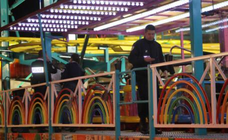 Un roman, grav ranit intr-un accident de munca produs intr-un parc de distractii din Franta
