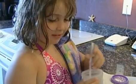 Obligata sa bea zilnic aproape 3 litri de lapte, ca sa nu moara. Afectiunea bizara a unei fetite