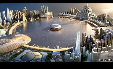 FOTO. Cum arata orasul care va costa 288 de miliarde de dolari. Cel mai scump proiect din lume