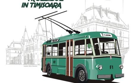 In urma cu 70 de ani, pe strazile Timisoarei circula primul troleibuz