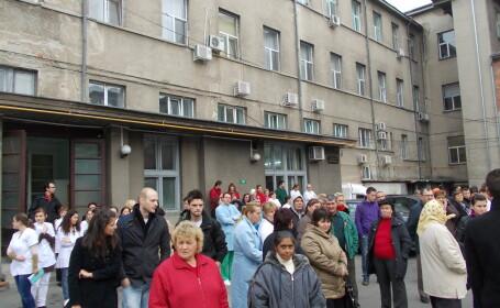 Spitalul Municipal din Timisoara, evacuat. Sase caini de interventie au asigurat zona. Afla motivul
