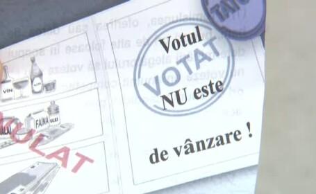 votul nu e de vanzare