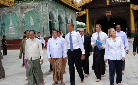 Barack Obama in Myanmar
