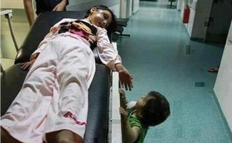 poza, copii raniti, Siria