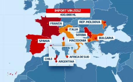 Romania, in top 10 mondial la consumul de vin. Doar 15% din ce bem este alcool de calitate