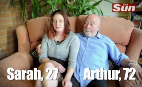 Arthur si Sarah, diferenta de varsta